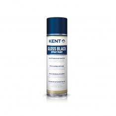 KENT Matt Black Spray Paint - 86245